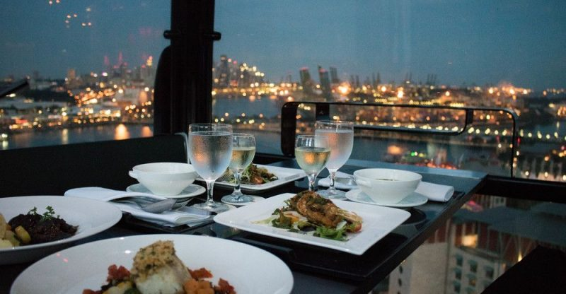 dinner with a view singapore
